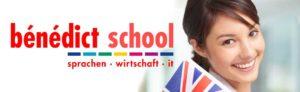 Titelbild mit Logo der Bénédict School Zwickau