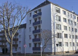 Wohnheim für Studenten und Auszubildende der fuu-sachsen in der Zschopauer Straße 147 in Chemnitz.