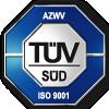 Signet des TÜV SÜD für die Zertifizierung des Qualitätsmanagements der fuu-sachsen