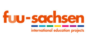 "Logo des Bereichs ""International Education"" der fuu-sachsen."