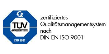1999 - TÜV Zertifikat für das Qualitätsmanagementsystem der fuu-sachsen.