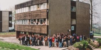 """Gruppenbild von Schülern der Berufsbildenden Schule """"Gerd Condé""""."""