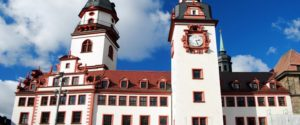 Frontseite des Alten Rathauses von Chemnitz