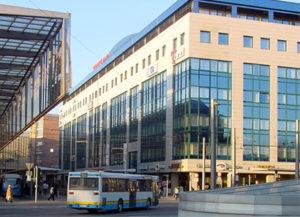 Geschäftssitz fuu-sachsen und Schulgebäude Stöckhardt-Gymnasium