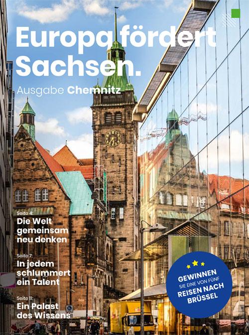 Magazin Europa fördert Sachsen