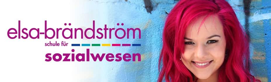 Titelbild mit Logo der Elsa-Brändström-Schule für Sozialwesen